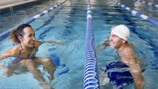 Health benefits of triathlons and cross training exercises like swimming, cycling and running