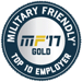 Military Friendly Top 10 Employer
